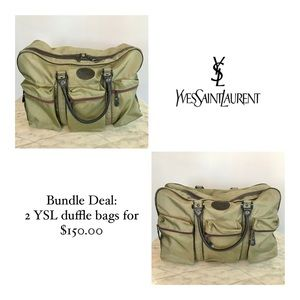 🌸 Bundle Deal! 🌸 2 YSL bags for $150. Limited.